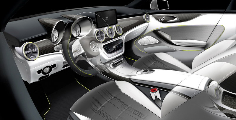 2012 Mercedes-Benz Concept Style Coupe (CLC) Interior Drawings - image 450475