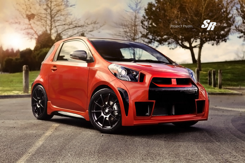 "2012 Scion iQ ""Project Pryzm"" by SR Auto Group"