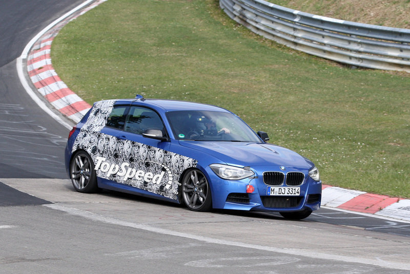 Spy Shots: BMW M135i caught testing at the Nurburgring