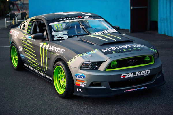 2013 Ford Mustang Rtr Monster Energy Falken Tire By Vaughn