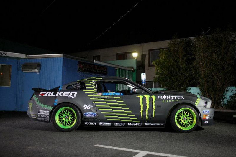 2013 Ford Mustang RTR Monster Energy Falken Tire by Vaughn Gittin