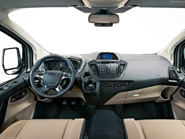 2013 Ford Transit Custom | truck review @ Top Speed