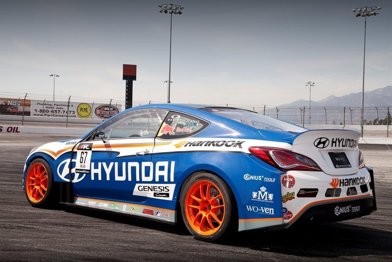 2013 Hyundai Genesis Coupe Formula Drift Car