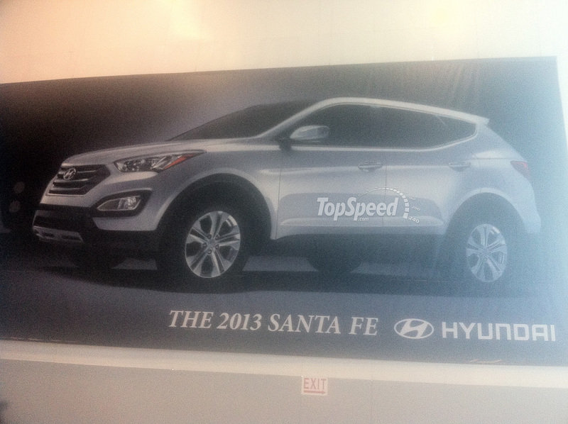 First Official Image of the 2013 Sante Fe