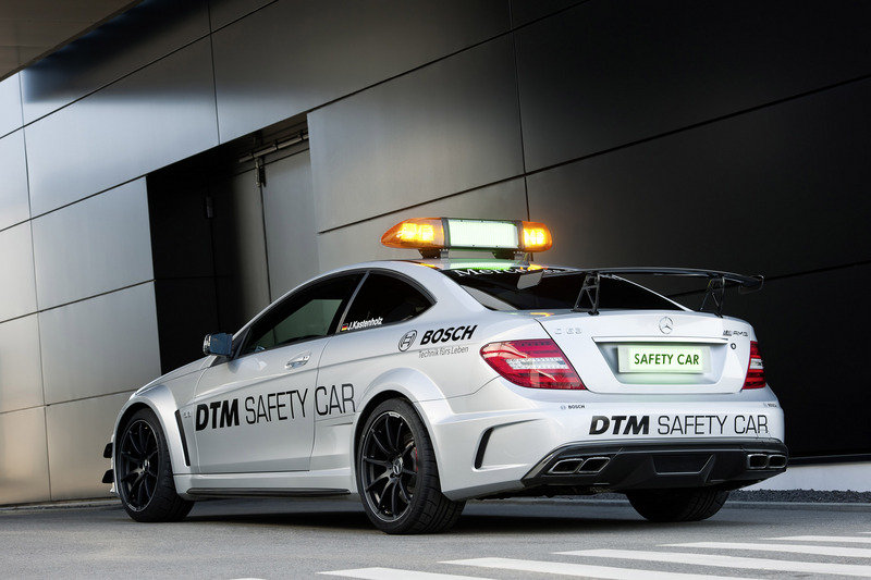 2013 Mercedes C63 AMG Black Series DTM Safety Car