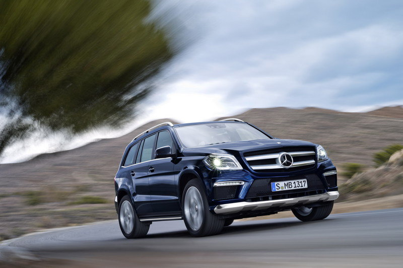 2013 Mercedes GL-Class High Resolution Exterior Wallpaper quality - image 447012