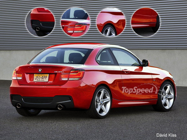 Pebble Beach Car Show >> TopSpeed Rendering: U.S. Bound BMW M135i Coupe | car News @ Top Speed