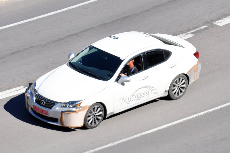 Spy Shots: 2014 Lexus IS caught testing for the first time