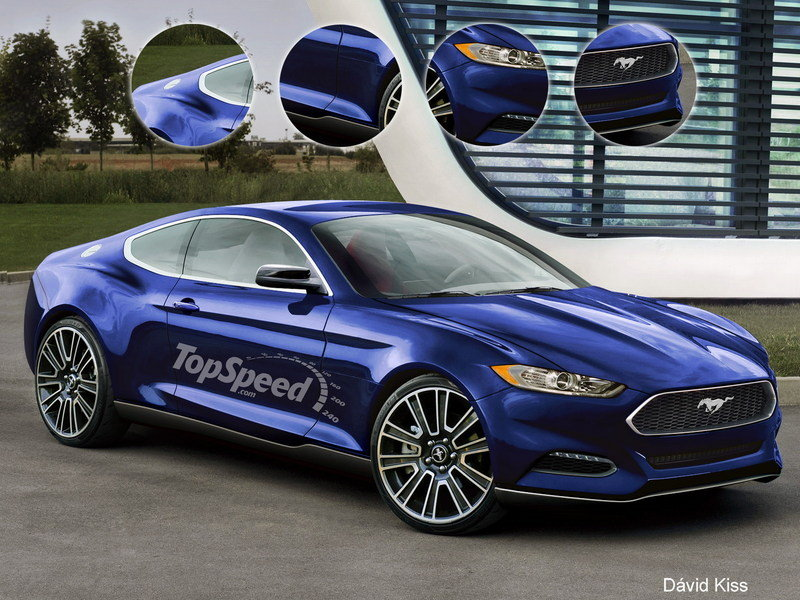 2015 Ford Mustang Exclusive Renderings - image 451284