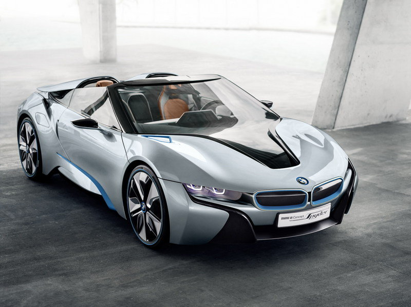 2012 BMW i8 Concept Spyder High Resolution Exterior - image 446343