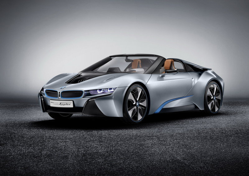 2012 Bmw I8 Concept Spyder Pictures Photos Wallpapers And Videos