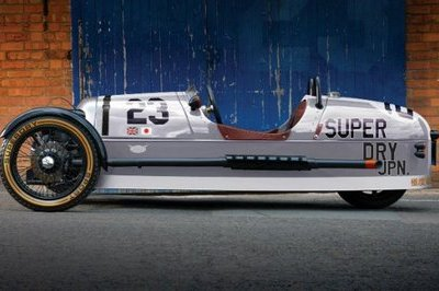 Enjoy the Sights and Sounds of the Morgan 3 Wheeler