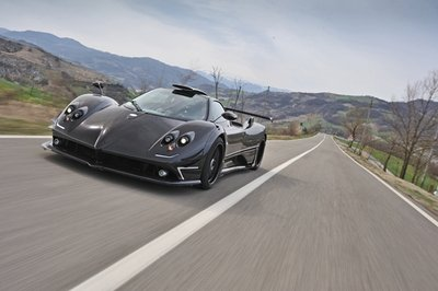 Evo's Harry Metcalfe drives the stunning Pagani Zonda 760 RS