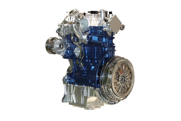 ford shows off the 1.0-liter ecoboost engine picture