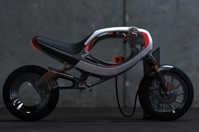 Frog eBike Concept is Inspired from Yamaha FZ750