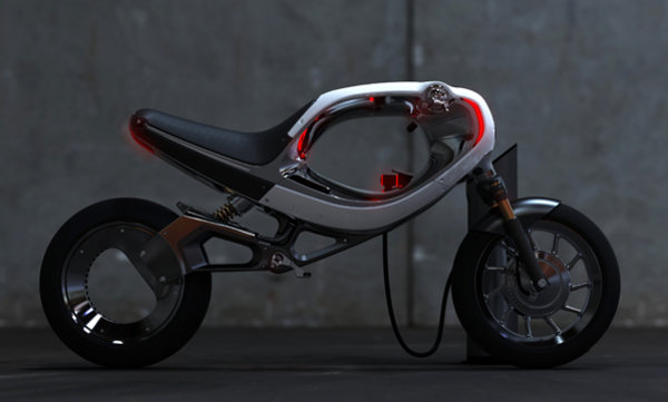 electric bikes: frog ebike and husqvarna e-go