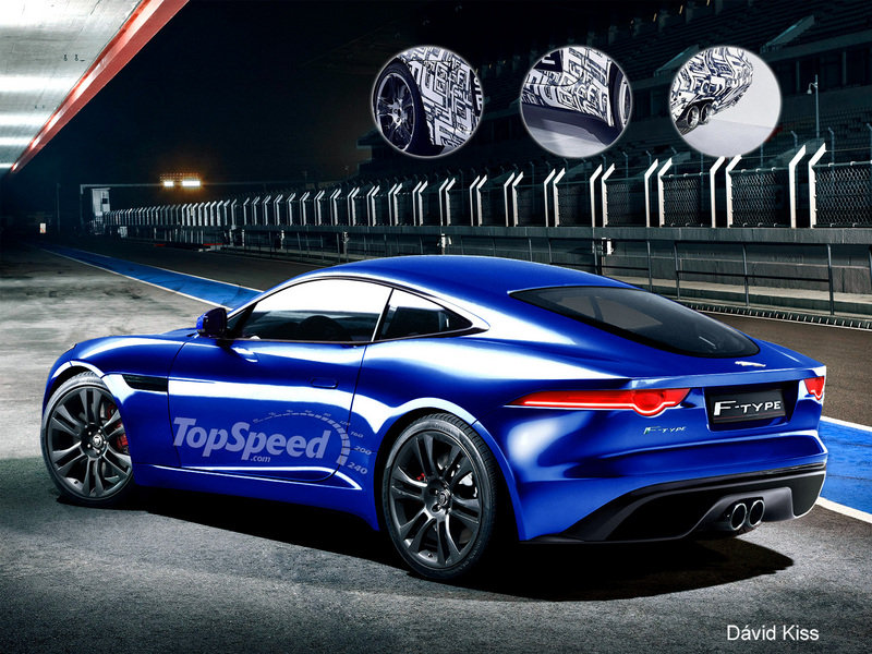 2014 Jaguar F-Type Coupe Exclusive Renderings - image 449705