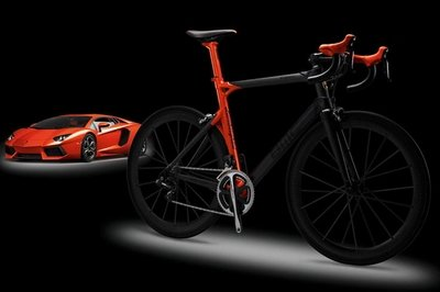 Lamborghini Bicycle by BMC