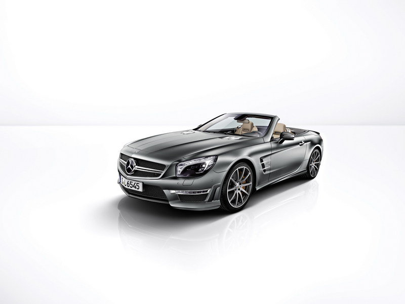 2013 Mercedes-Benz SL 65 AMG 45th Anniversary High Resolution Exterior Wallpaper quality - image 447042