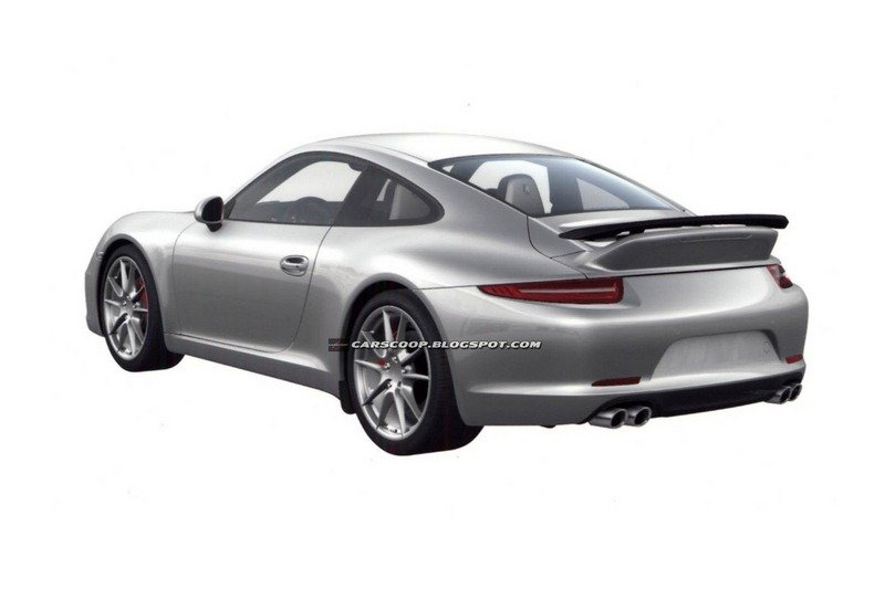 Patent images reveal new Porsche 911/991 Aerokit and SportDesign packages