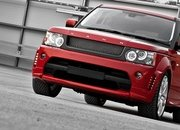 "Range Rover ""Red Ranger"" by Kahn Design"