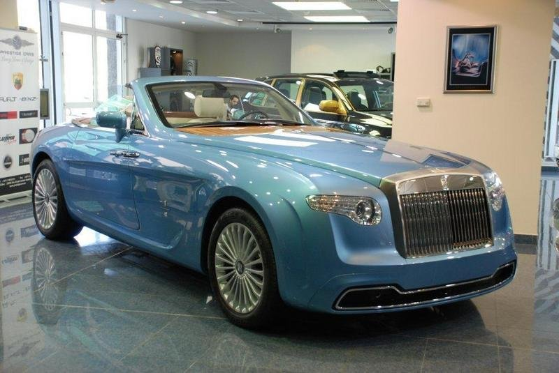 Rolls Royce Hyperion Up For Sale At Abu Dhabi Dealership