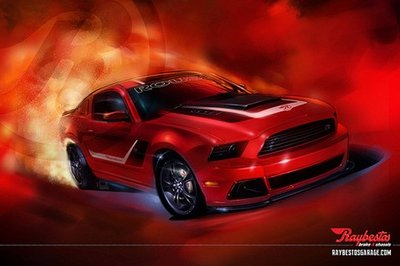 2013 Ford Roush Stage 3 Mustang by Raybestos