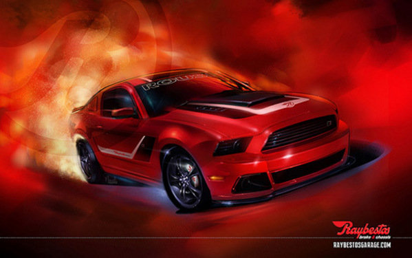 Ford Roush Stage 3 Mustang by Raybestos