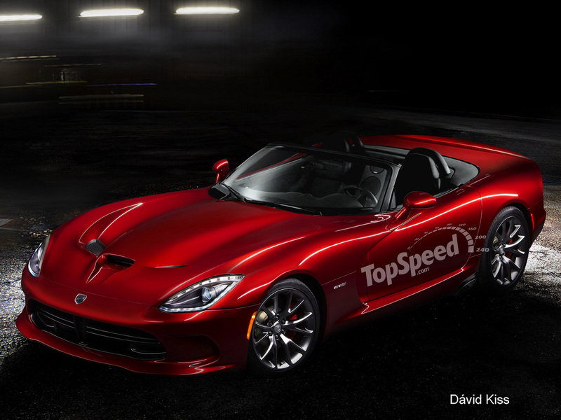 2014 SRT Viper Roadster Exterior Computer Renderings and Photoshop - image 448007
