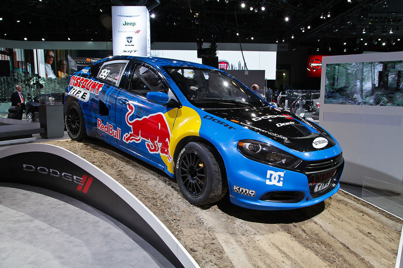 Video: 2013 Dodge Dart Rally Car Plays in the Dirt, Water, and Tarmac