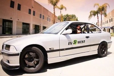 "1995 BMW M3 Electric Coupe ""Pikes Peak"" by EV West"