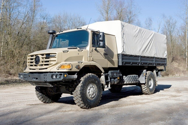 2010 Mercedes Benz Zetros Pictures Photos Wallpapers And Video