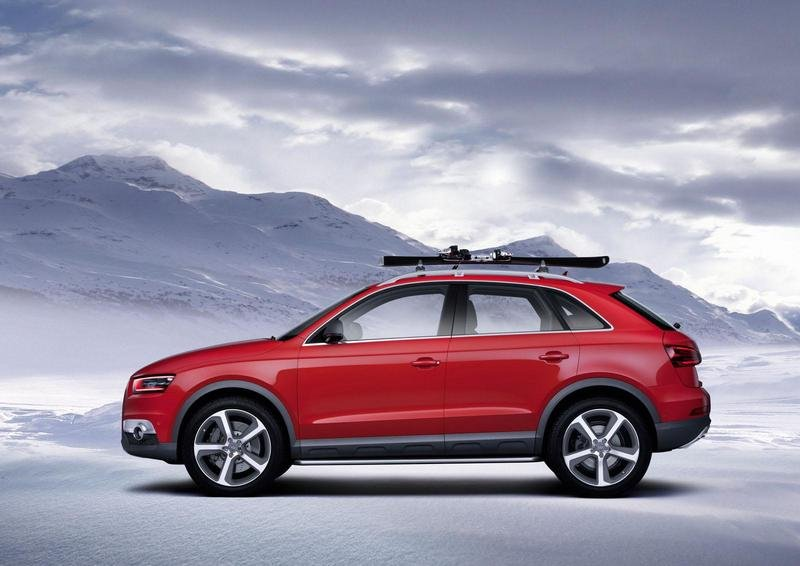 2012 Audi Q3 Red Track Concept High Resolution Exterior - image 454810