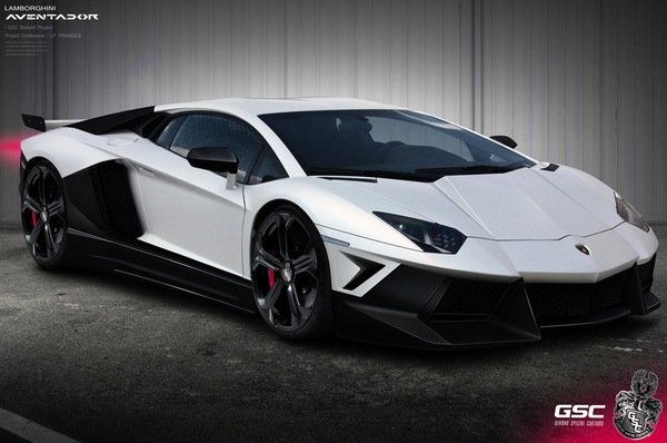 Lamborghini Aventador Triangle by German Special Customs
