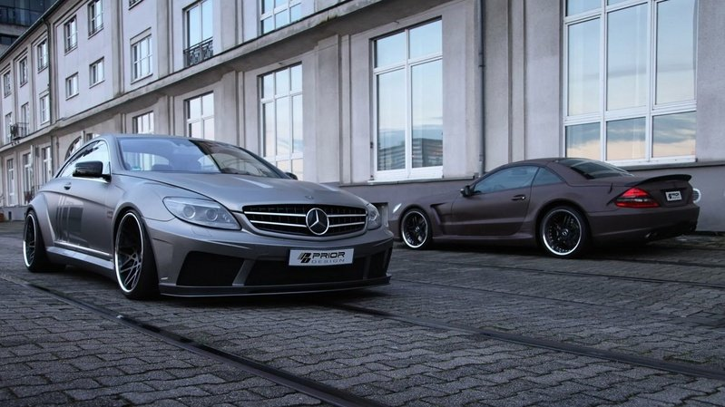 2012 Mercedes CL-Class Black Edition V2 by Prior Design