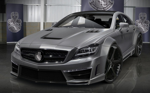 Mercedes CLS63 AMG by German Special Customs