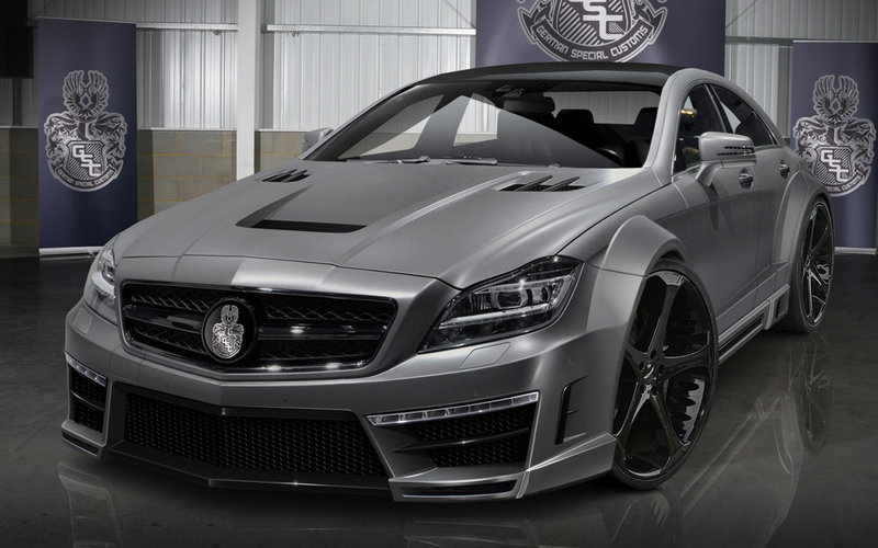 2012 Mercedes CLS63 AMG Stealth by German Special Customs
