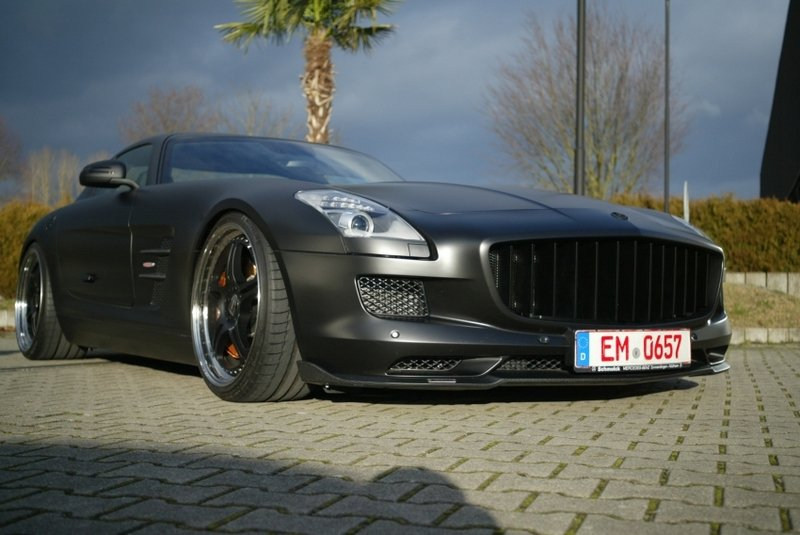 2012 Mercedes SLS AMG by HMS Tuning