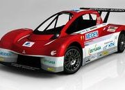 Mitsubishi i-MiEV Evolution Pikes Peak Race Car
