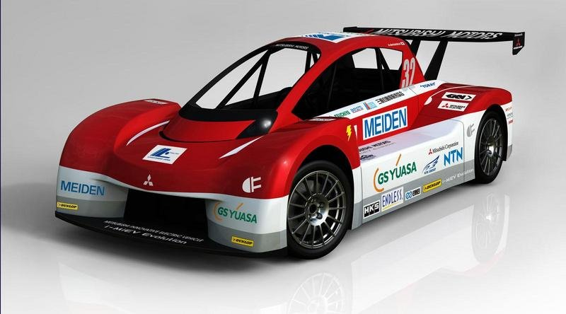 2012 Mitsubishi i-MiEV Evolution Pikes Peak Race Car