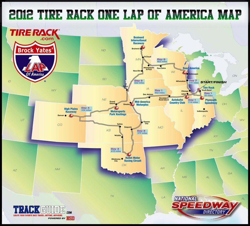 2012 One Lap America is in the books
