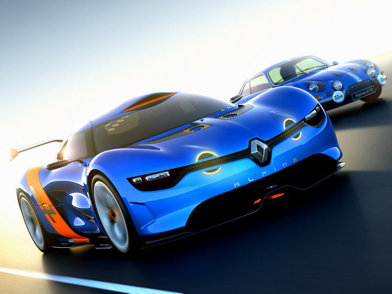 2012 Renault Alpine A110-50 Concept High Resolution Exterior Wallpaper quality - image 457331