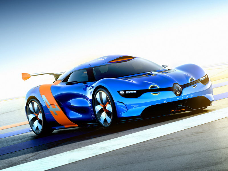 2012 Renault Alpine A110-50 Concept High Resolution Exterior - image 457320