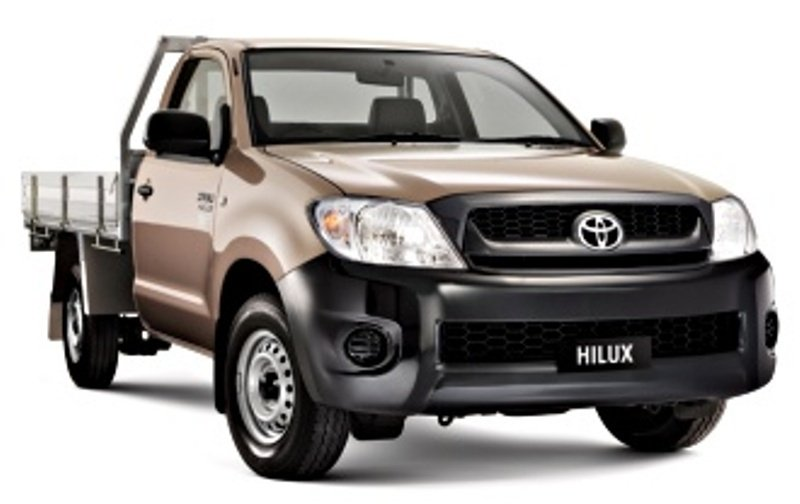 2012 Toyota Hilux Chassis Cab | Top Speed