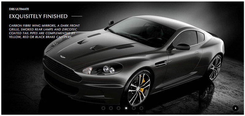 2013 Aston Martin DBS Ultimate Edition