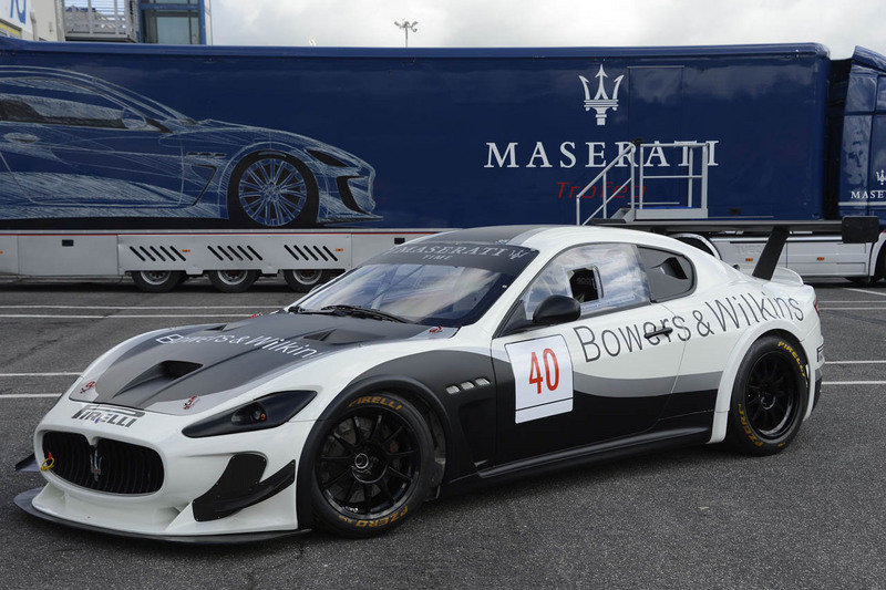 2013 Maserati GranTurismo Trofeo World Series Race Car