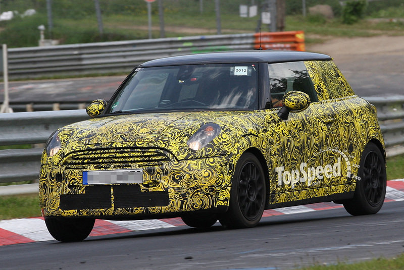 Spy Shots: Another round of testing for the 2013 Mini Cooper