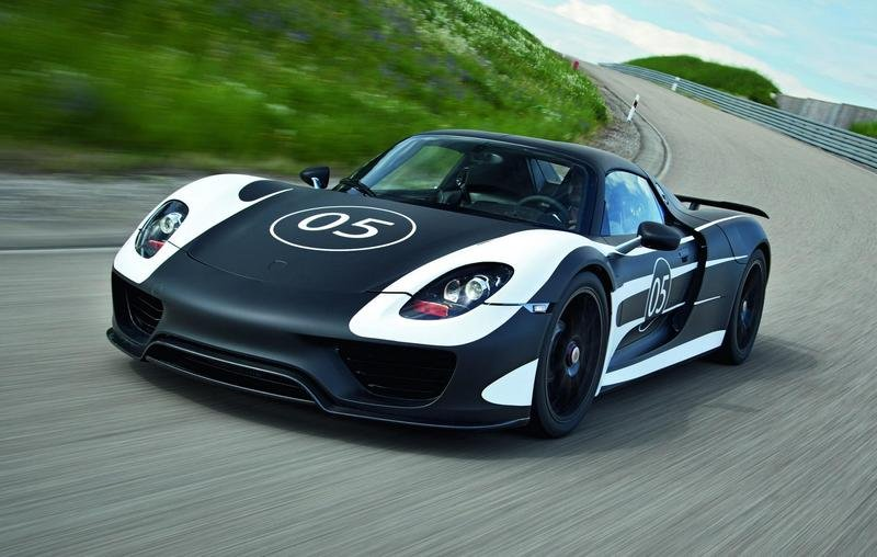 2014 Porsche 918 Spyder High Resolution Exterior - image 455340