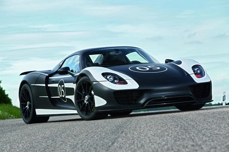 2014 Porsche 918 Spyder High Resolution Exterior - image 455343