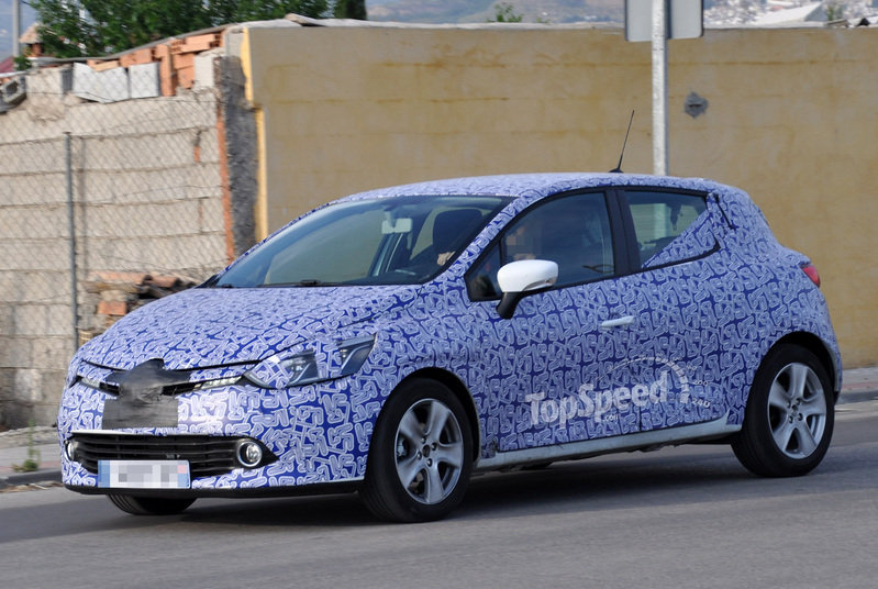 Spy Shots: Renault Clio heads out for more testing without some of its camouflage